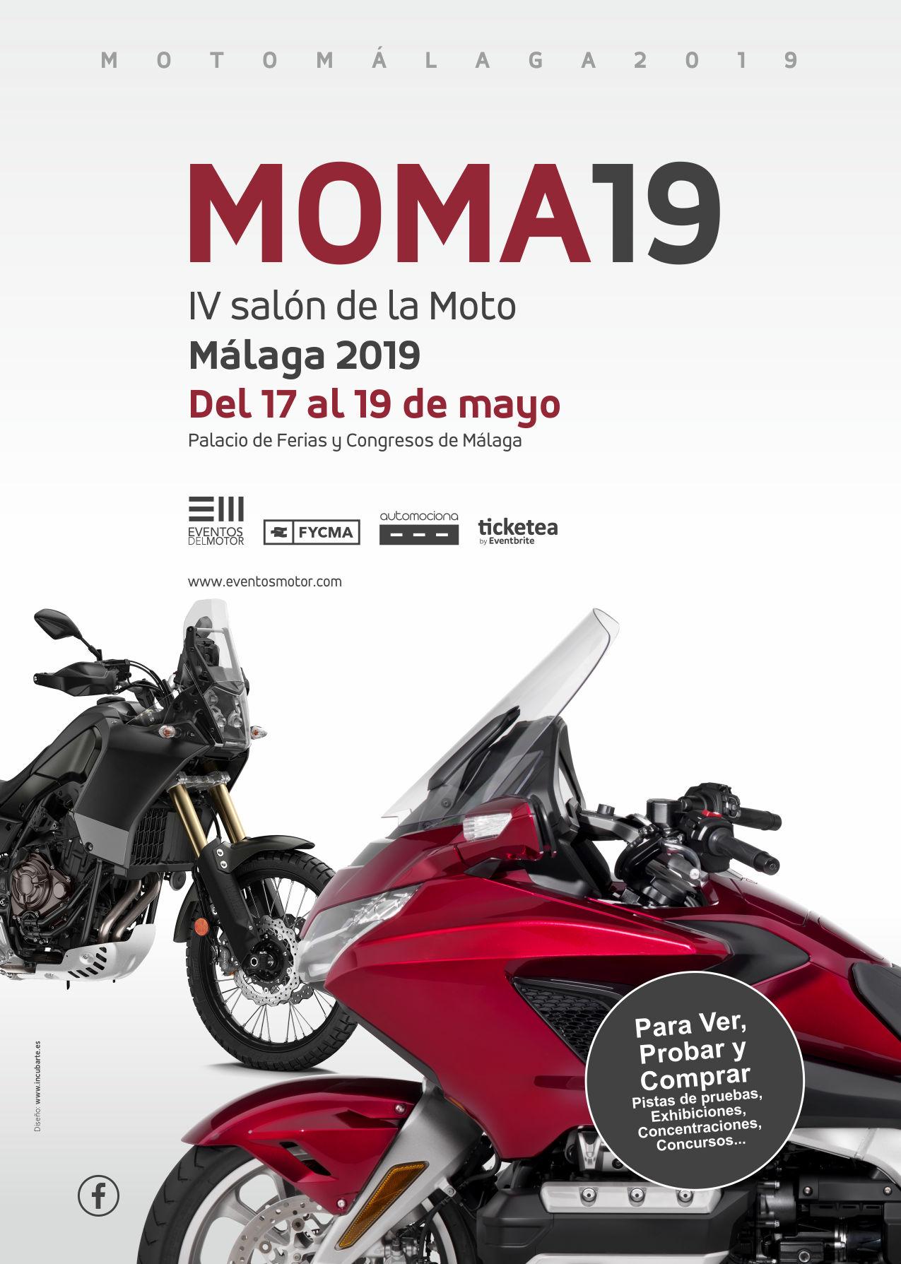 MOMA 2019 – IV Salón de la Moto de Málaga
