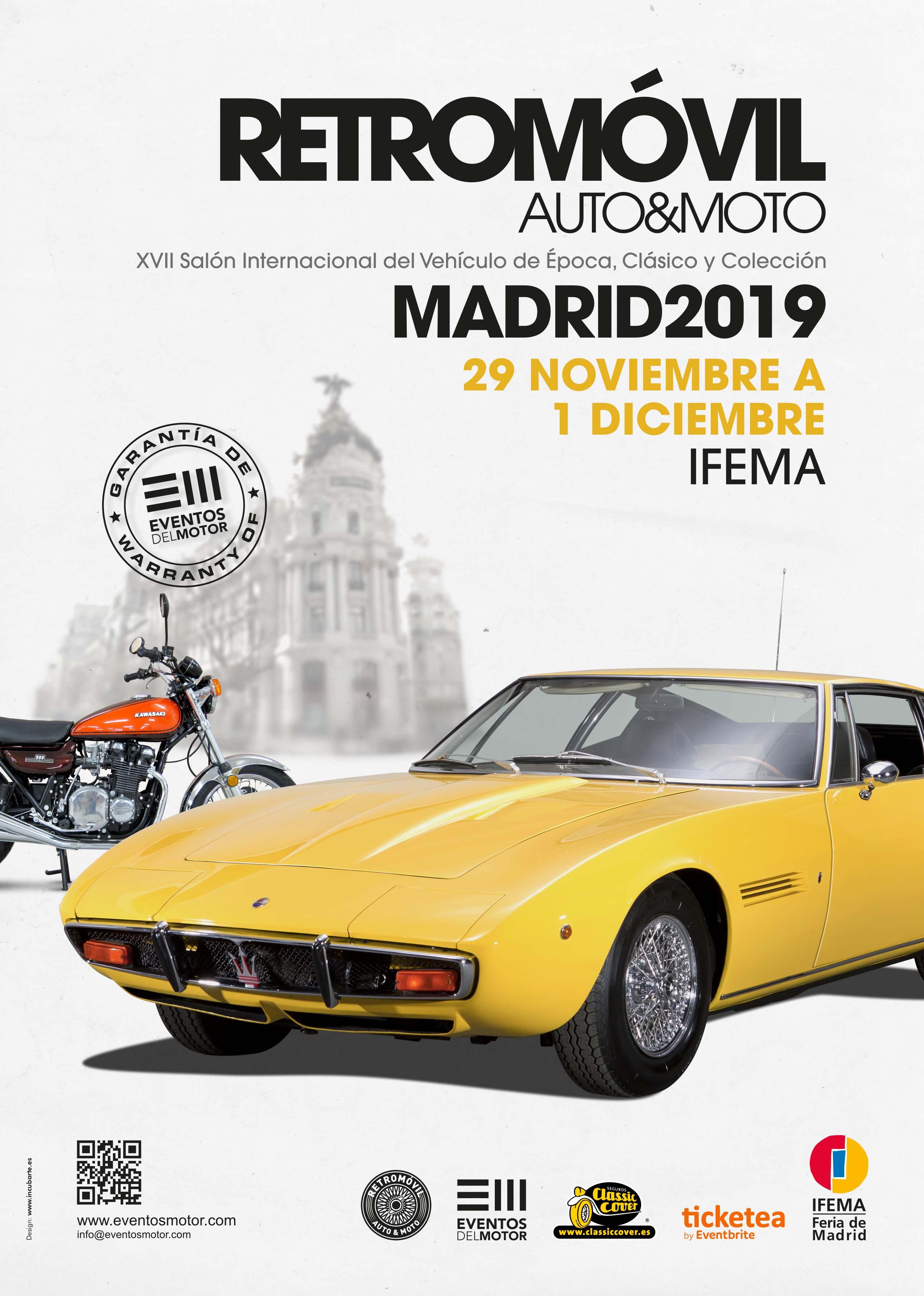 XVII Retromóvil Madrid