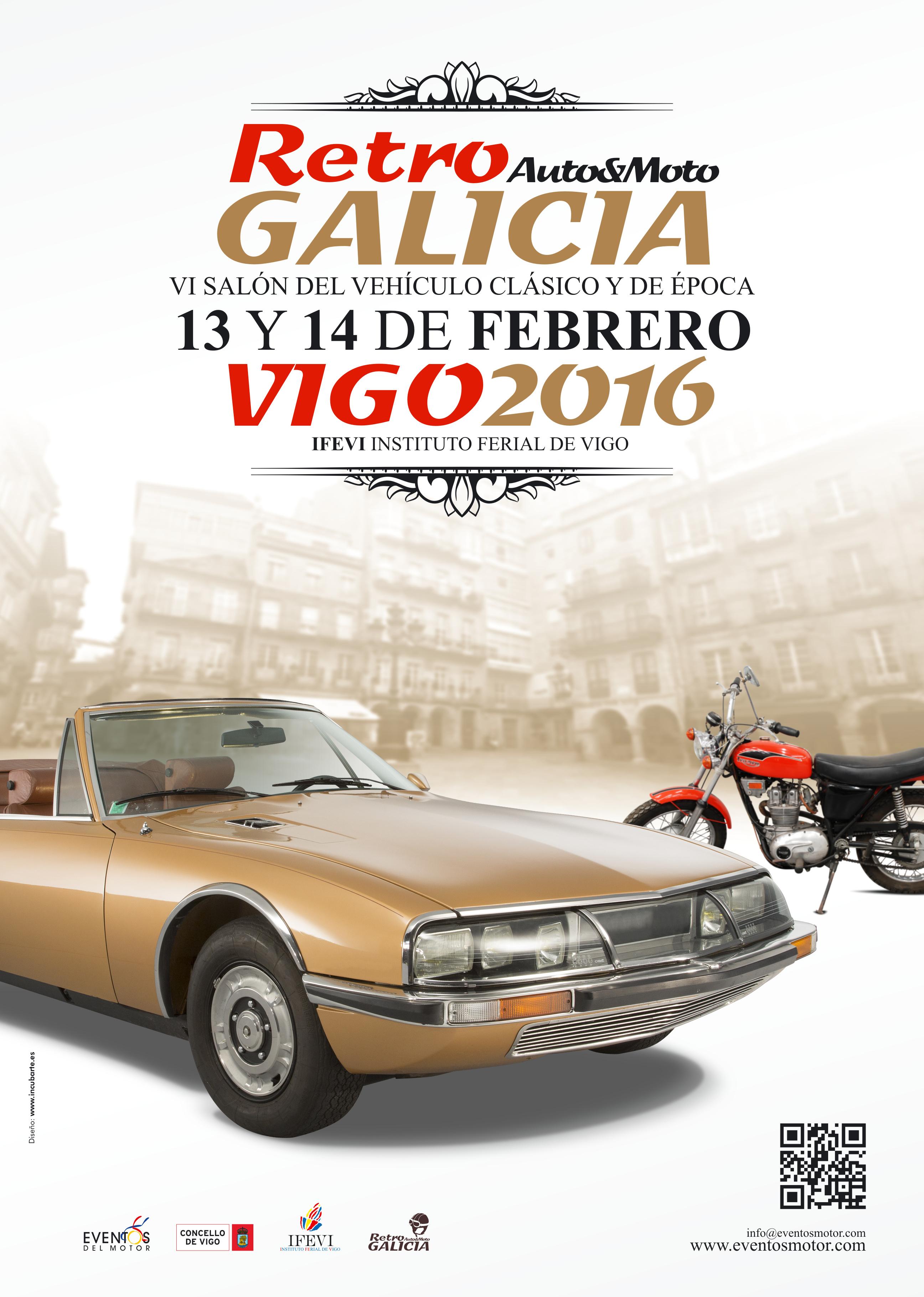 VI Retro Galicia – Vigo