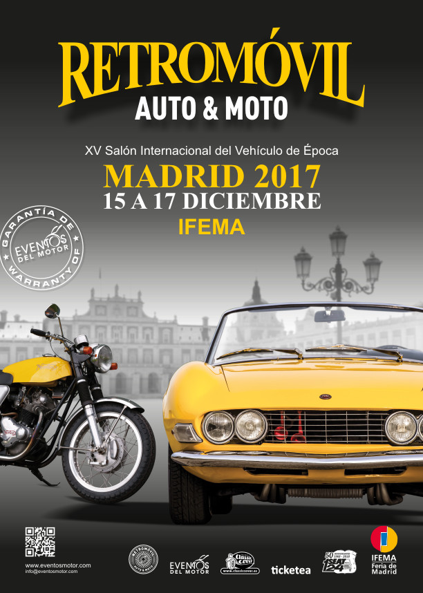 XV Retromóvil Madrid