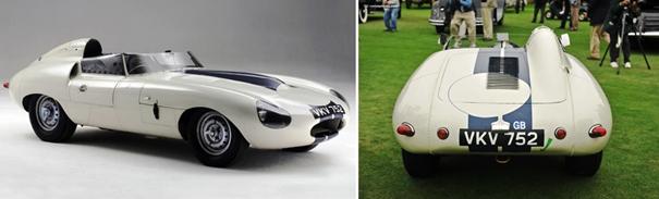 Diseño que inspiró la creación del Jaguar E-Type