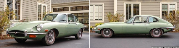 1969 Jaguar E-Type Roadster Serie 2 – Motor 4.2L (Foto: Alpha Cars)