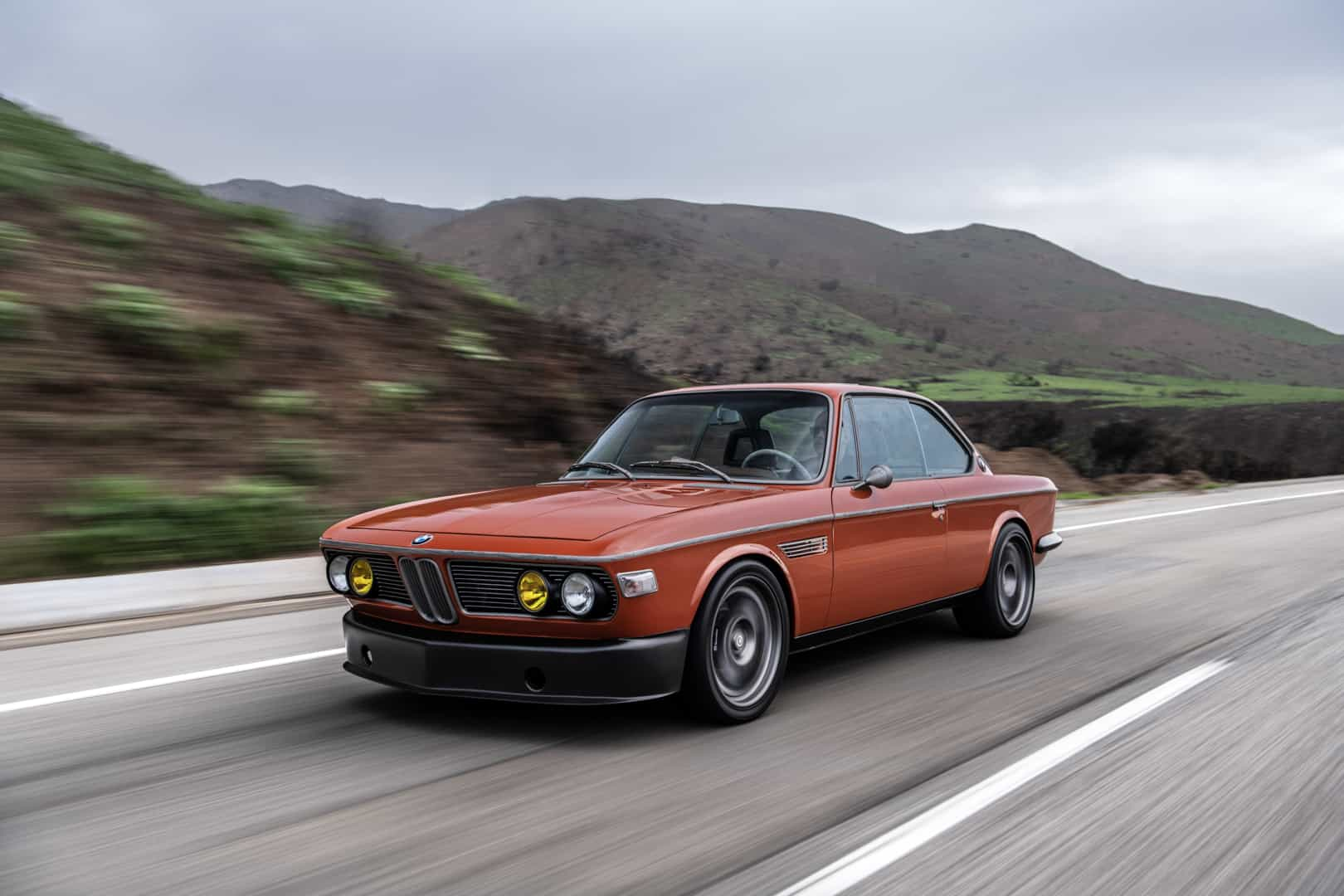 El BMW 3.0 CS a la carta de Iron Man - Eventos Motor