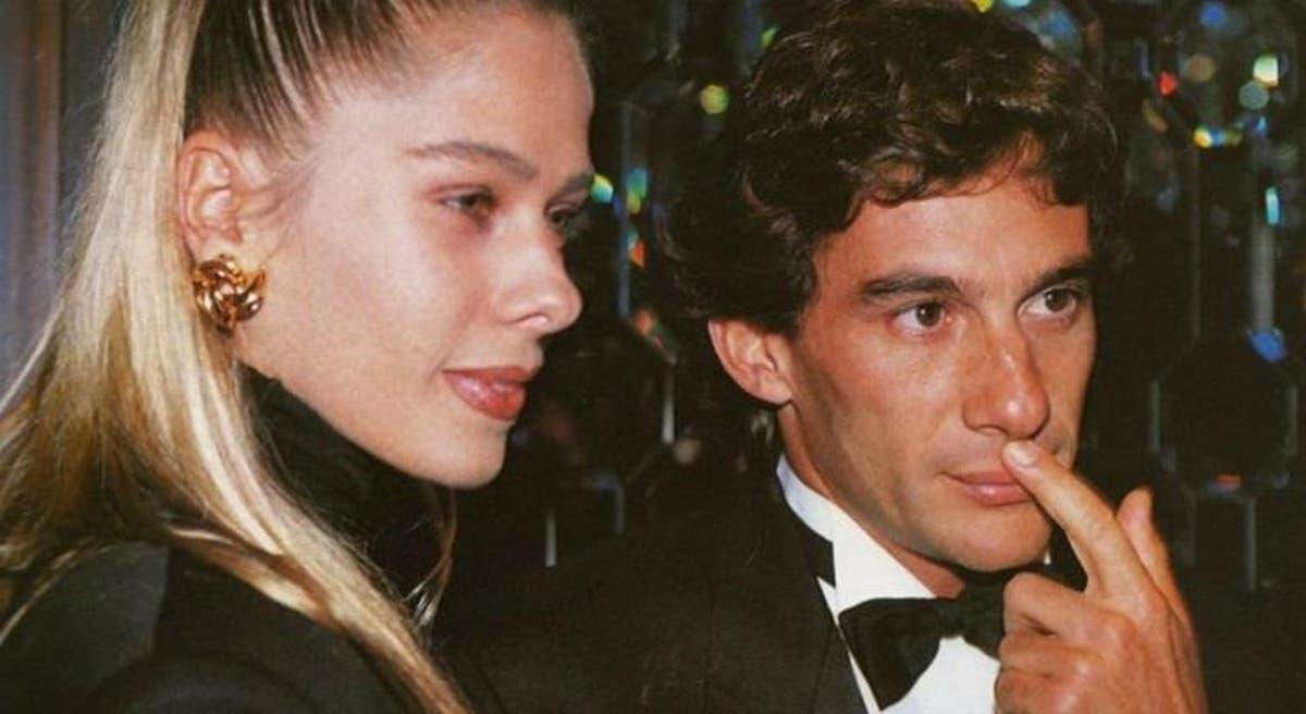 Ayrton Senna y Adriane Galisteu