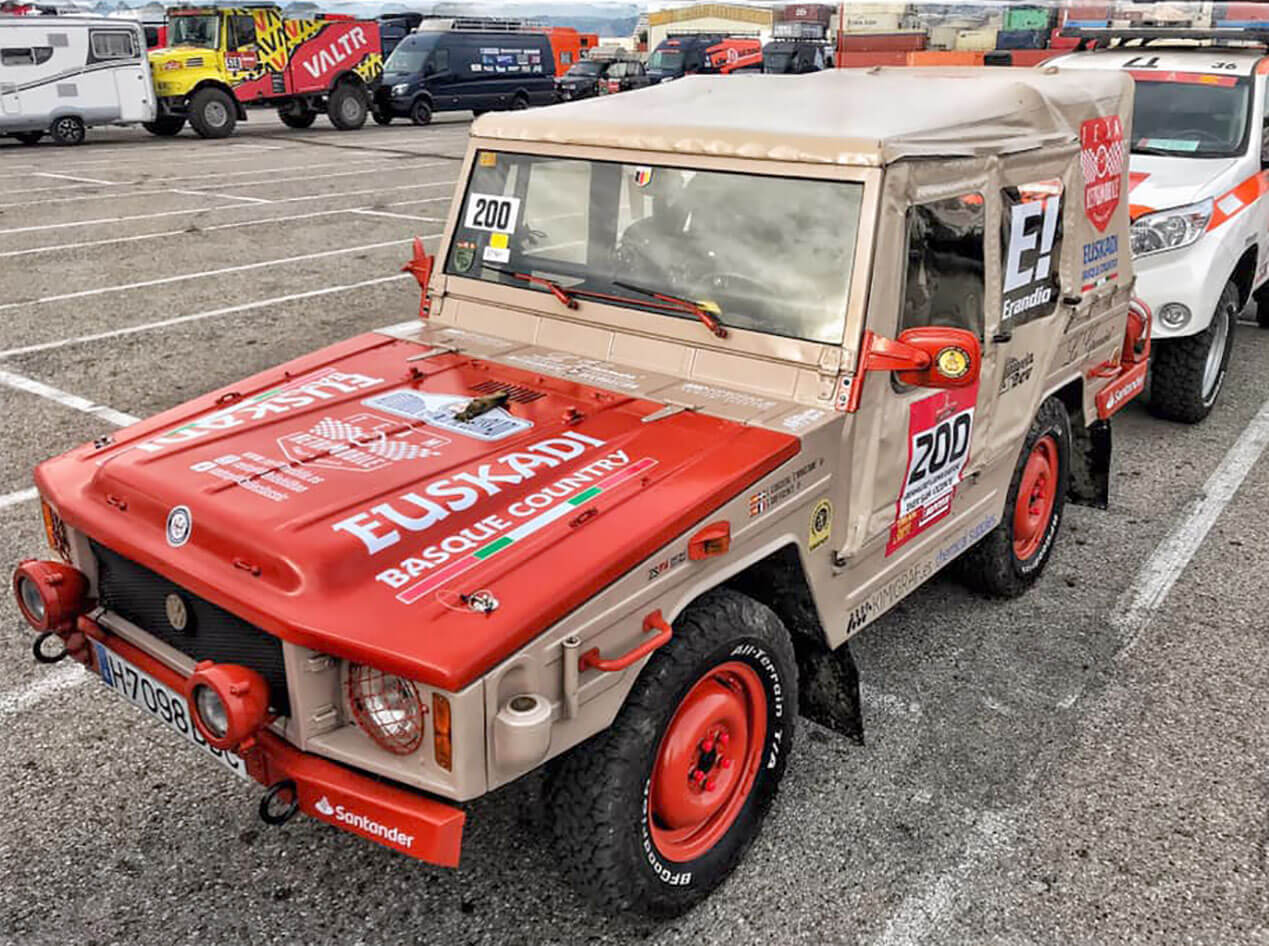 Dakar classics Livingstone