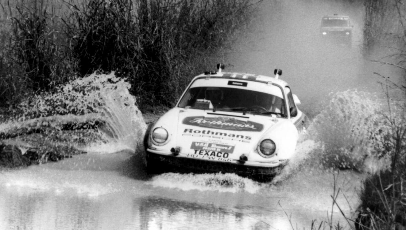 Porsche en el Dakar