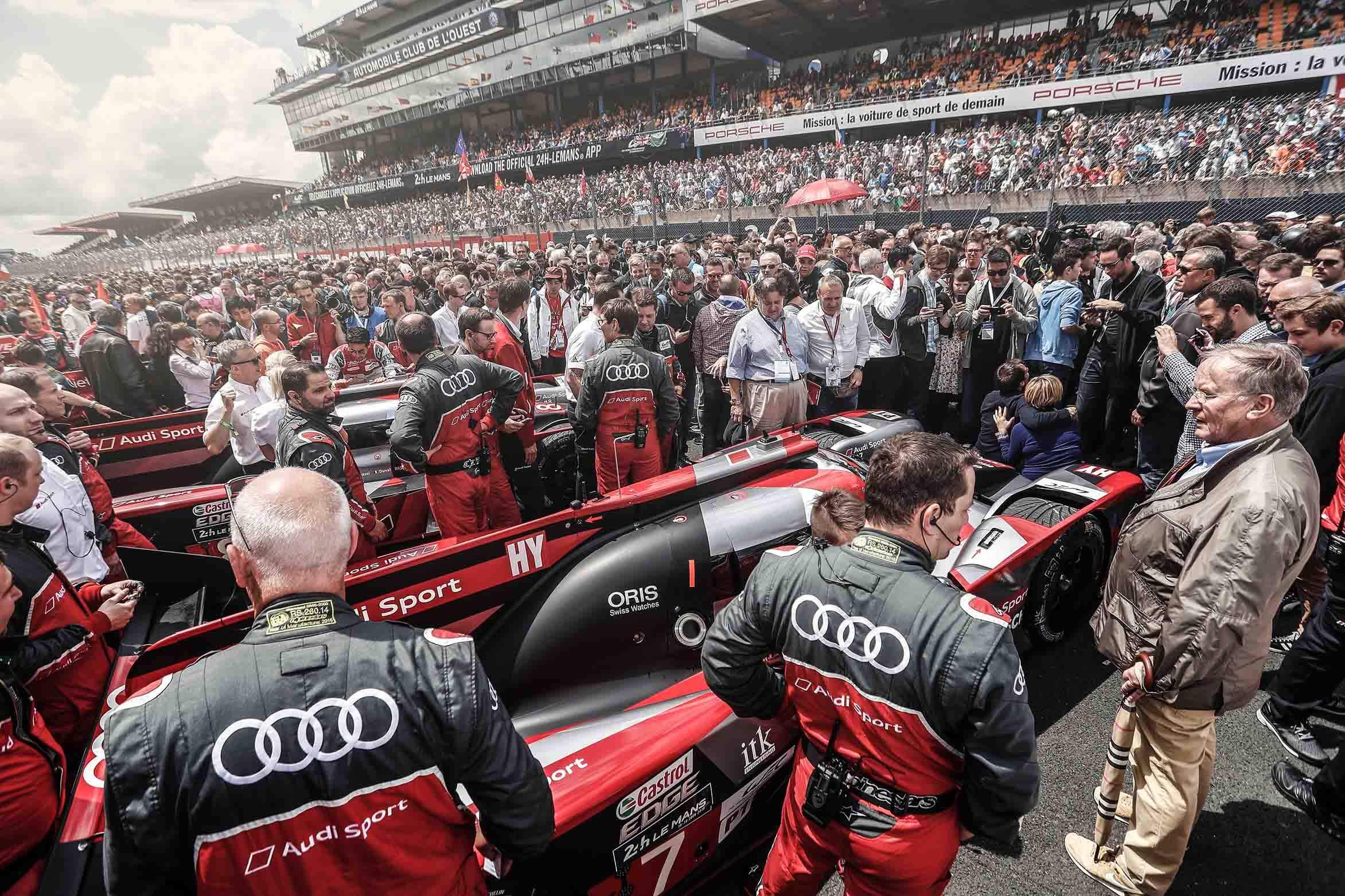 Mikel Prieto prueba Audi