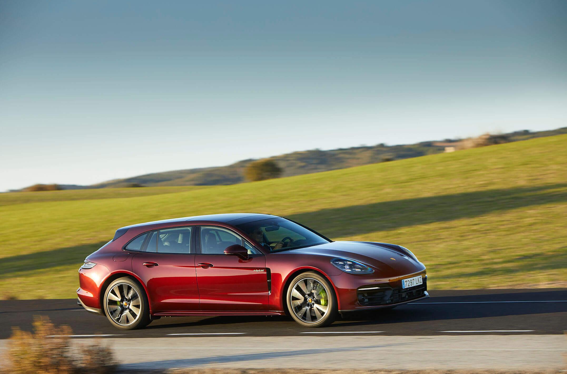 Porsche Panamera 2021 en prueba dinámica