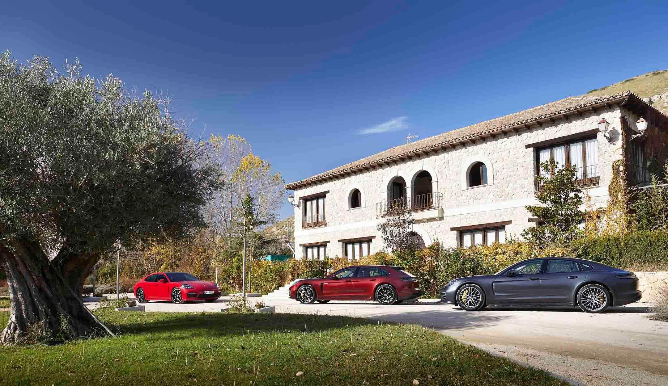 Las tres versiones del nuevo Porsche Panamera 2021