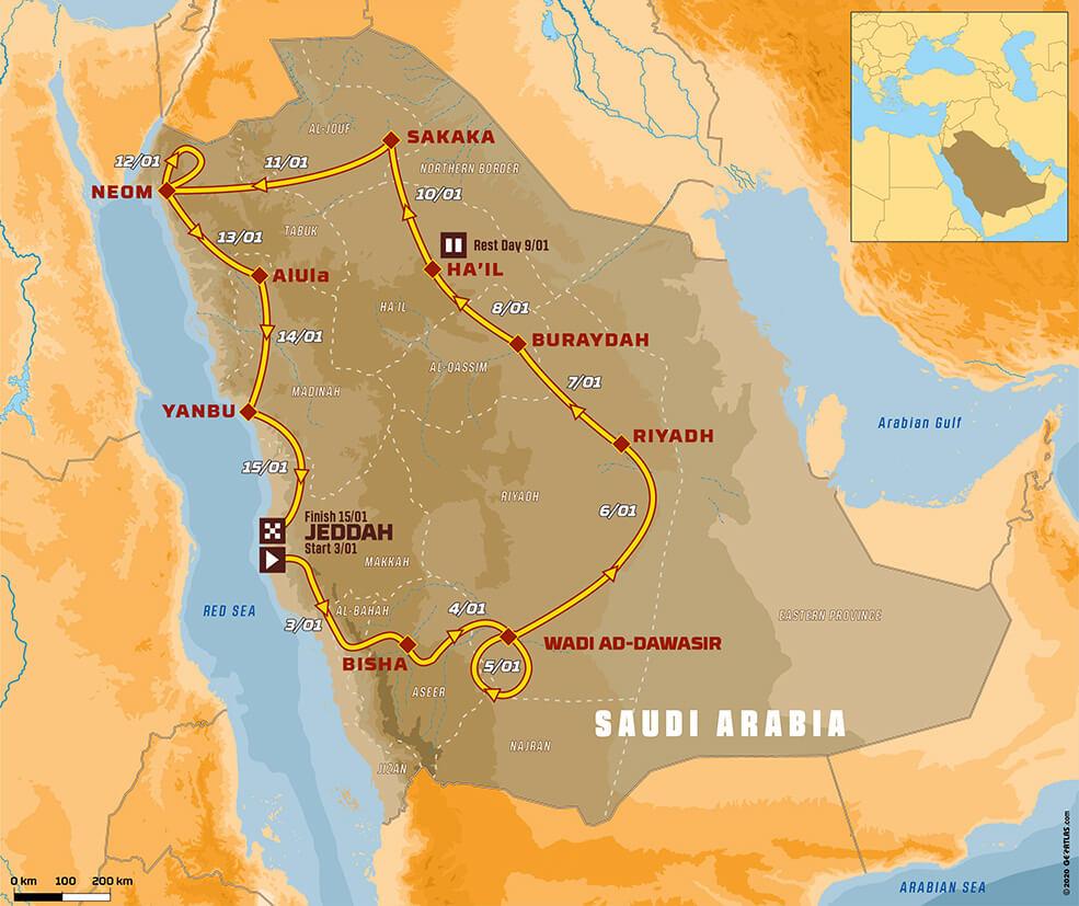 Plano Dakar 2021