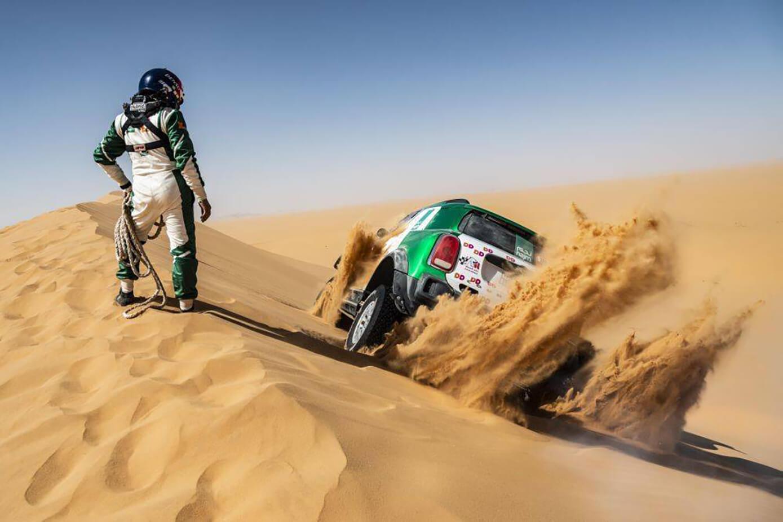 Rally Dakar problemas