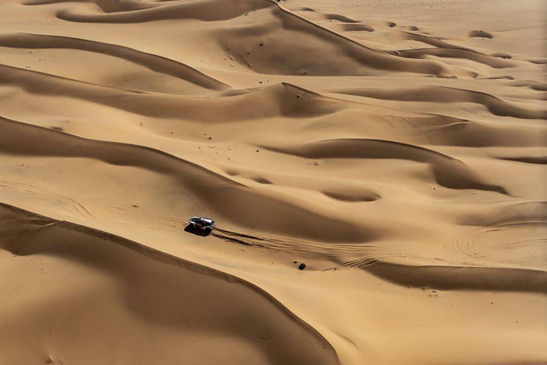 Rally Dakar dunas