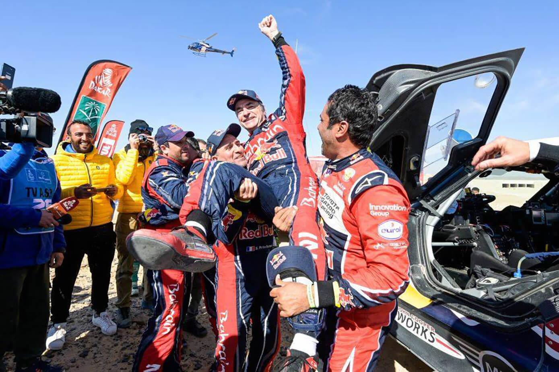 Rally Dakar Sainz ganador
