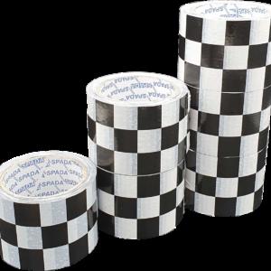 cinta adhesiva ajedrezada