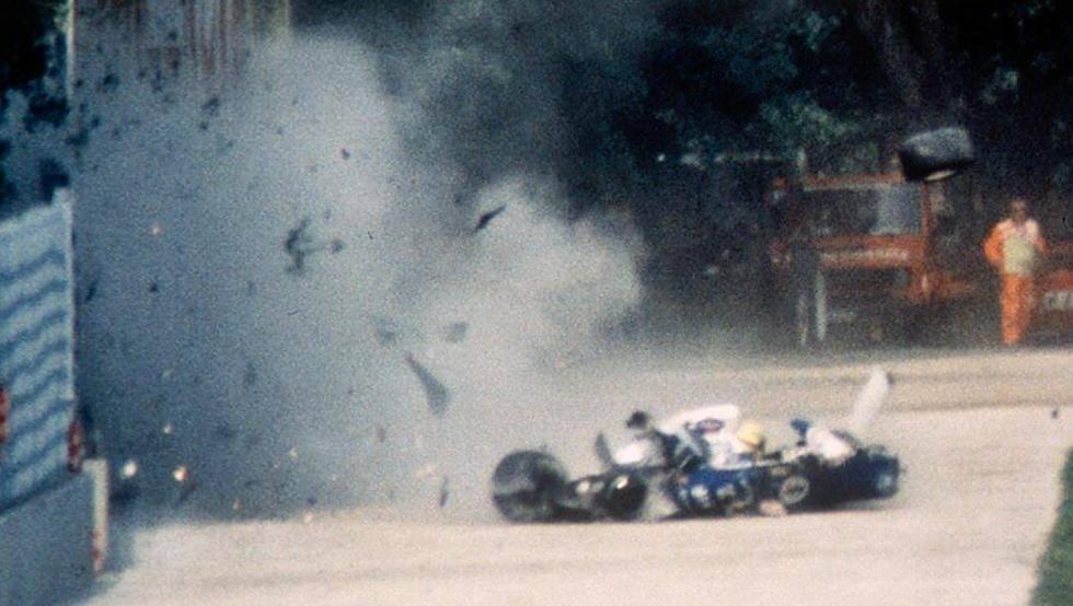 el accidente de Senna en Imola