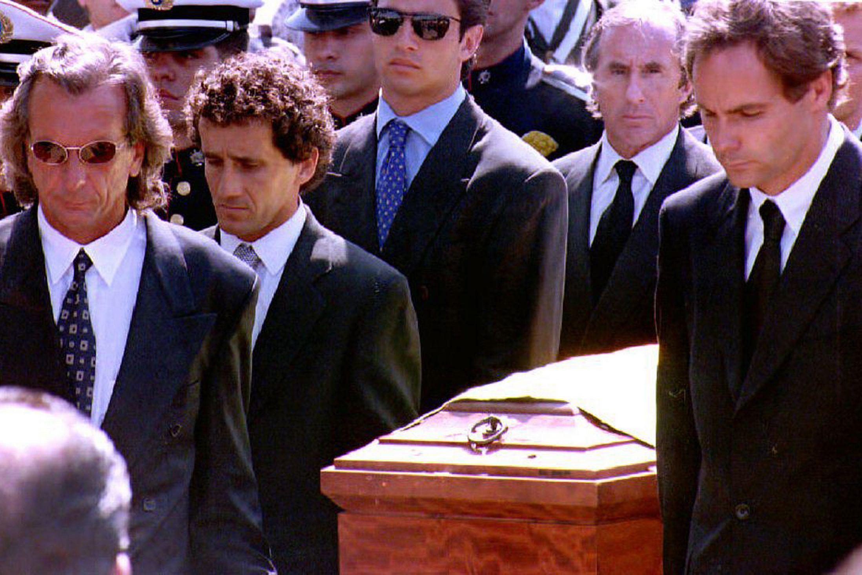 entierro de Ayrton Senna