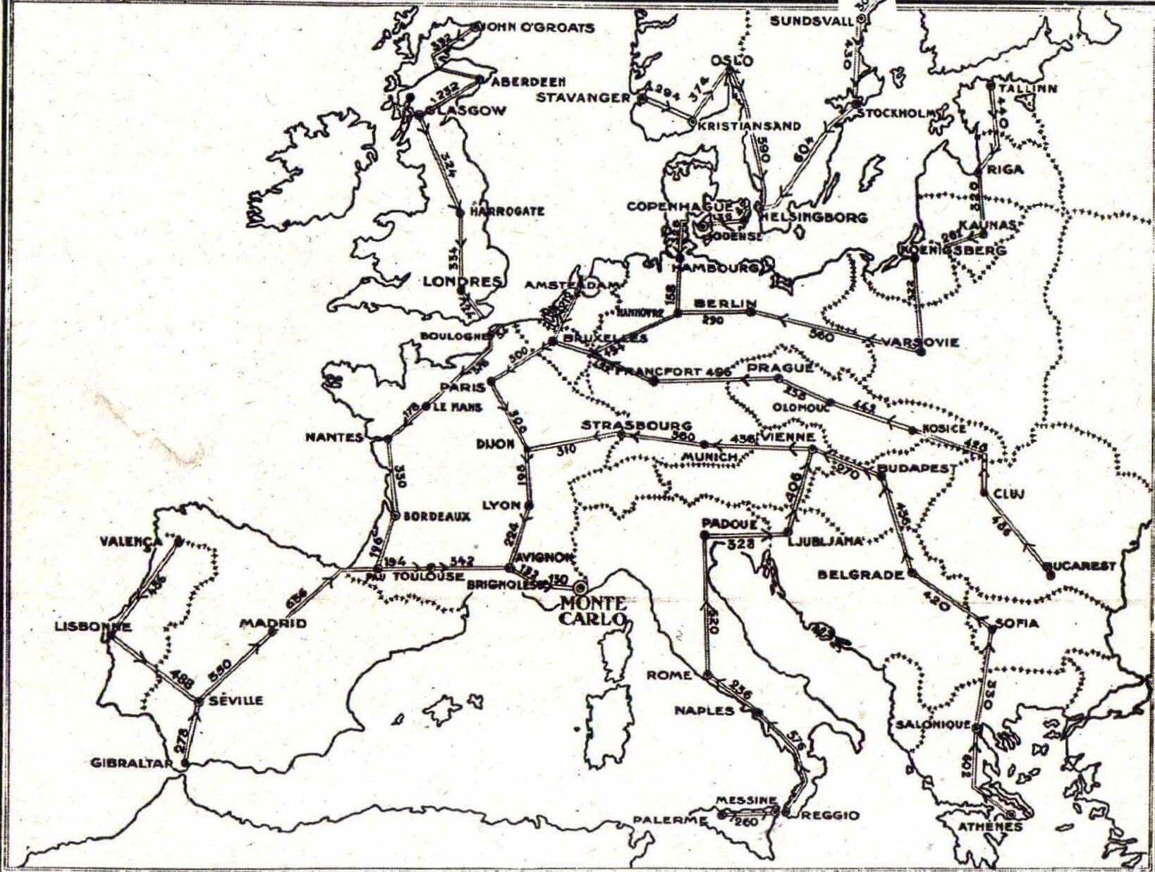 Skoda Montecarlo mapa