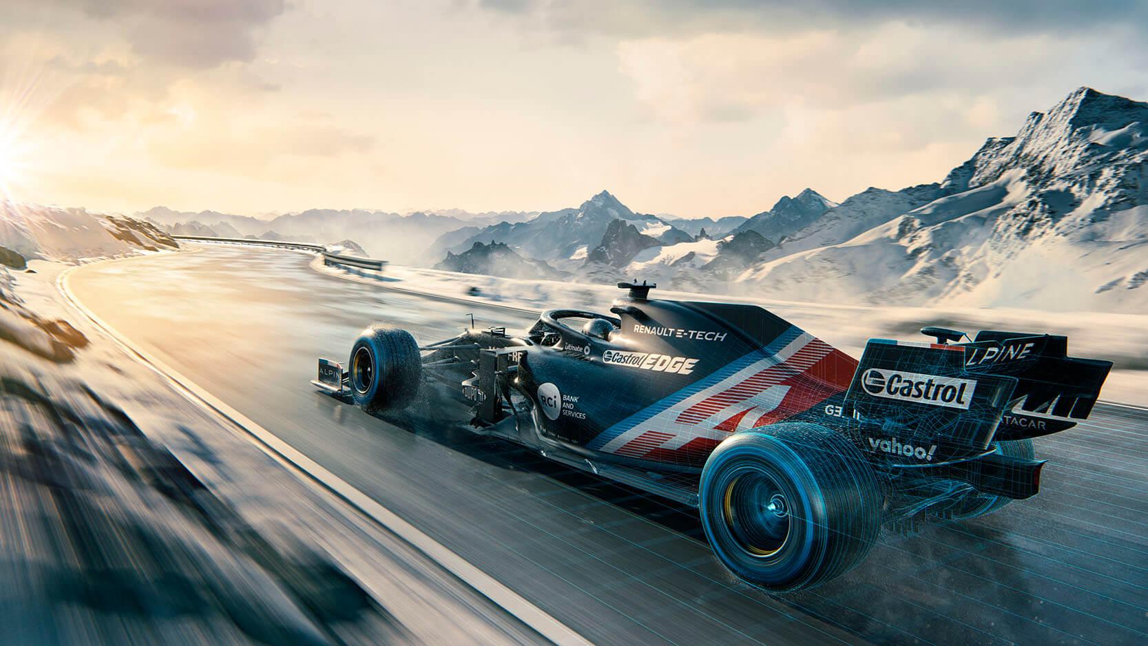 Alpine F1 portada