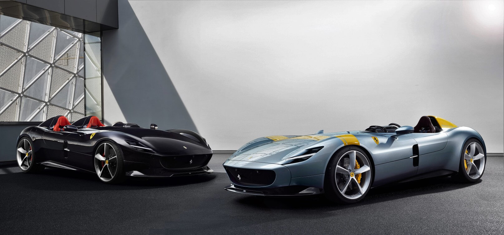 Ferrari Monza SP1 deportivo sin parabrisas