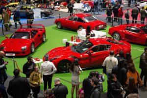Ferrari en Retromóvil Madrid