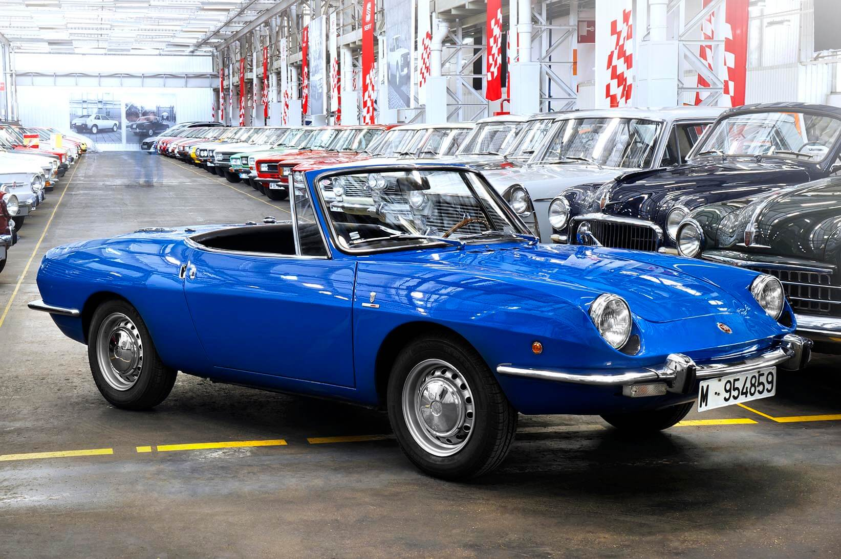 Nave 122 Seat 850 Spider