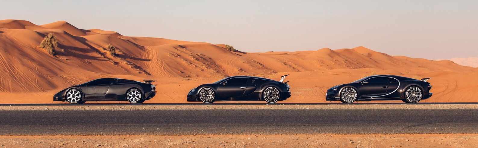 Bugatti EB110, Veyron y Chiron
