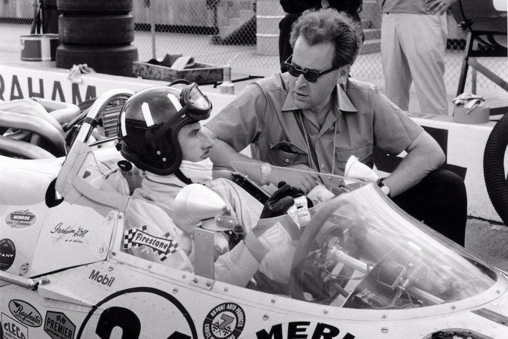 Fórmula 1 Eric Broadley con Graham Hill