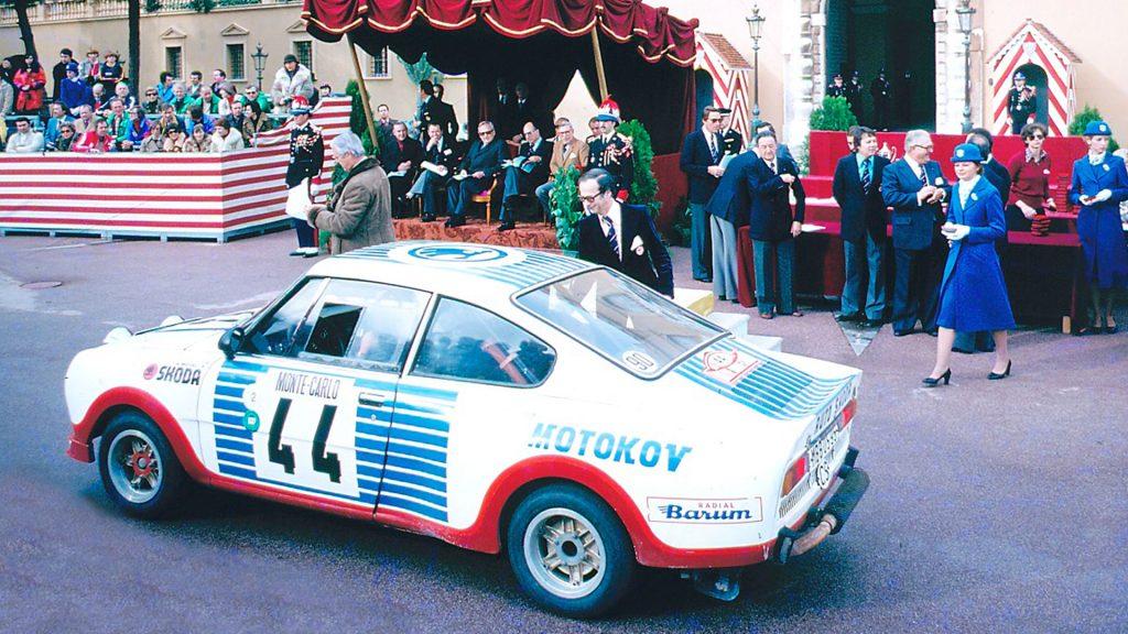 skoda Rallye de Montecarlo