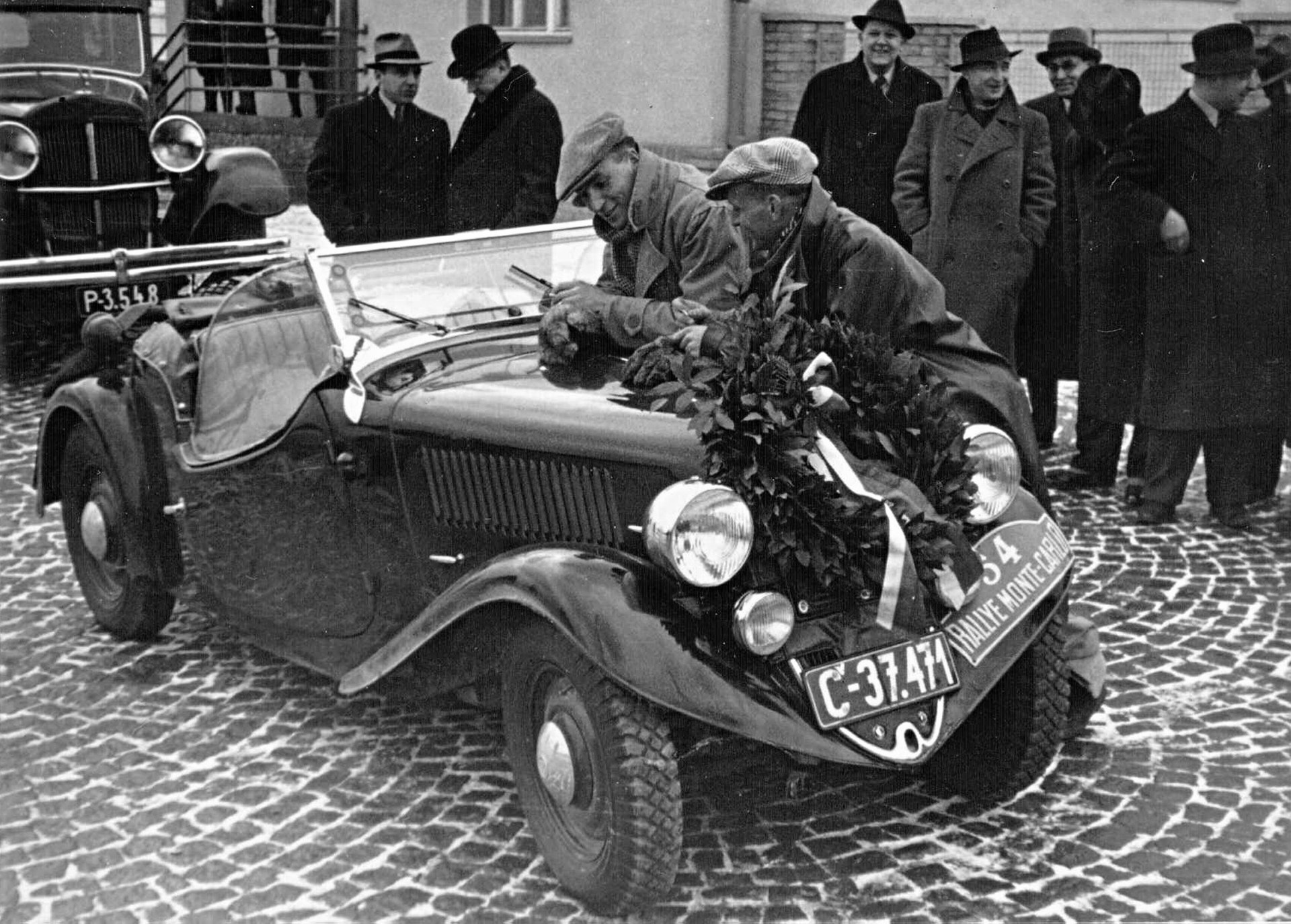 Rally Montecarlo 1936 Skoda