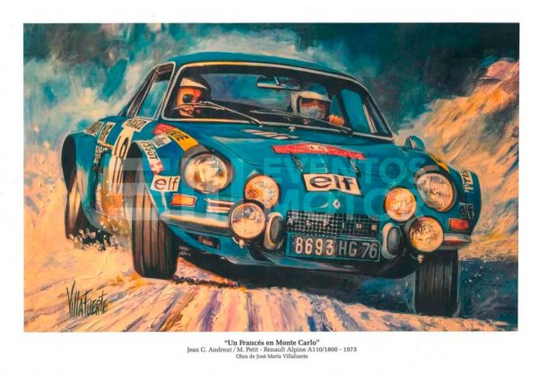 ilustracion renault alpine A110