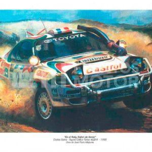 ilustracion Toyota Celica turbo