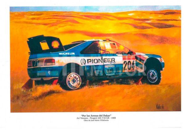 ilustracion Peugeot 405