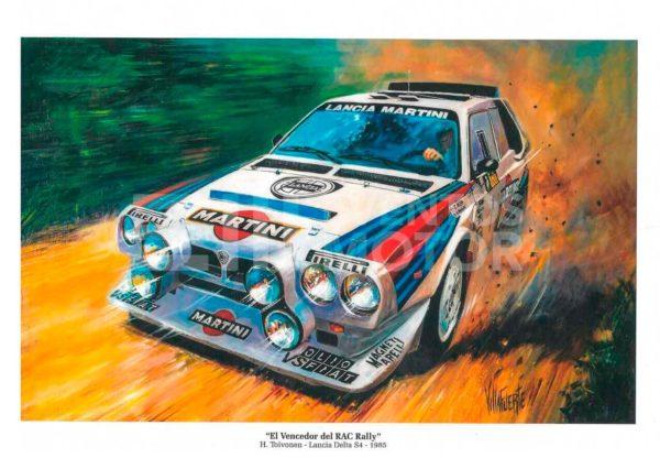 Pintura Lancia Delta S4 1985