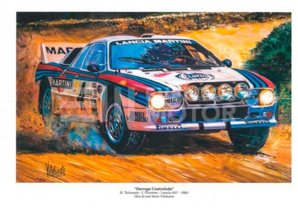 ilustracion Lancia 037