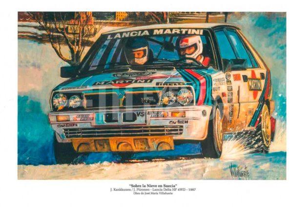 ilustracion lancia delta 1987