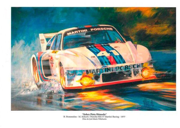 ilustracion Porsche 935