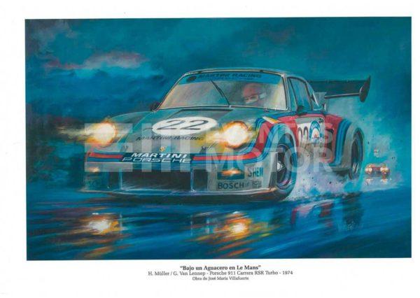 ilustracion porsche 911 clasico