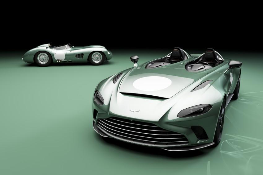 Aston Martin Speedster V12 DBR1 Limited Edition,y original