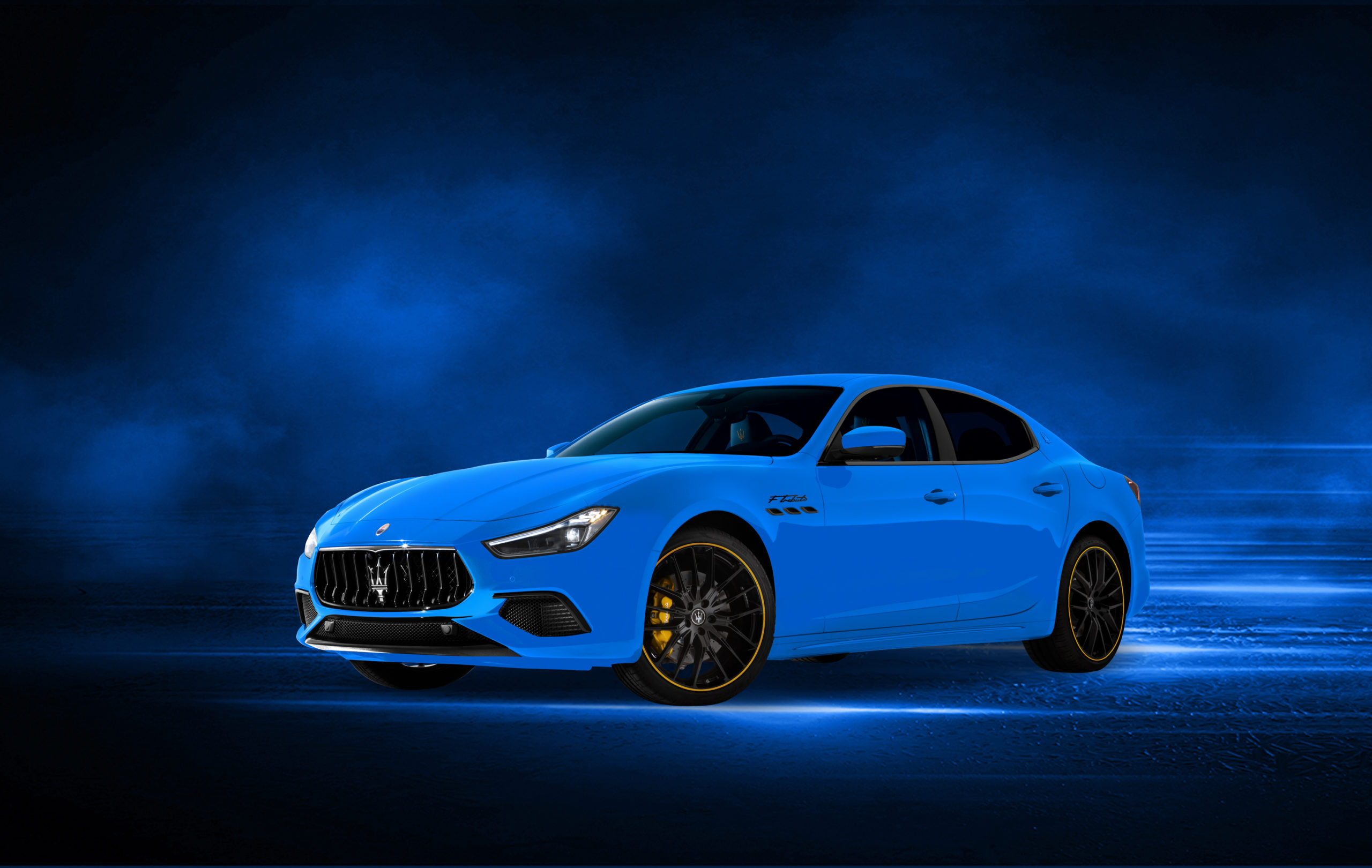 Maserati Ghibli serie especial F Tributo