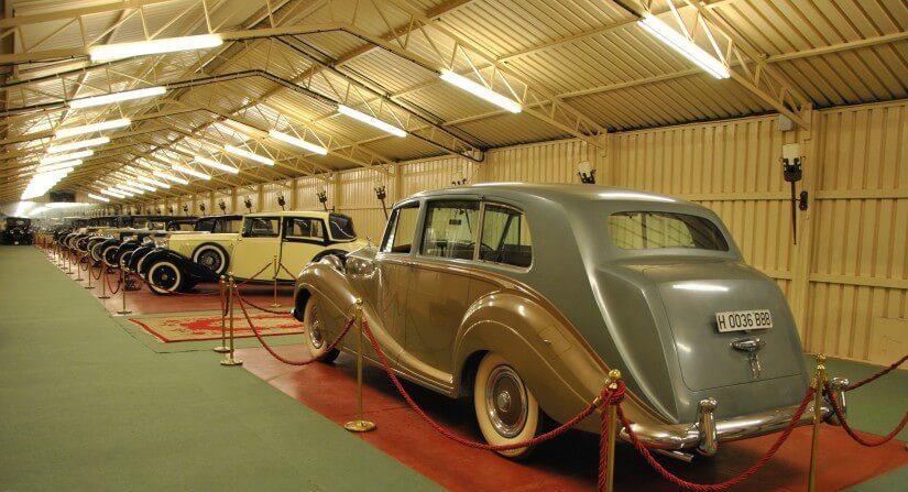 Pabellon Rolls Royce Torre Loizaga