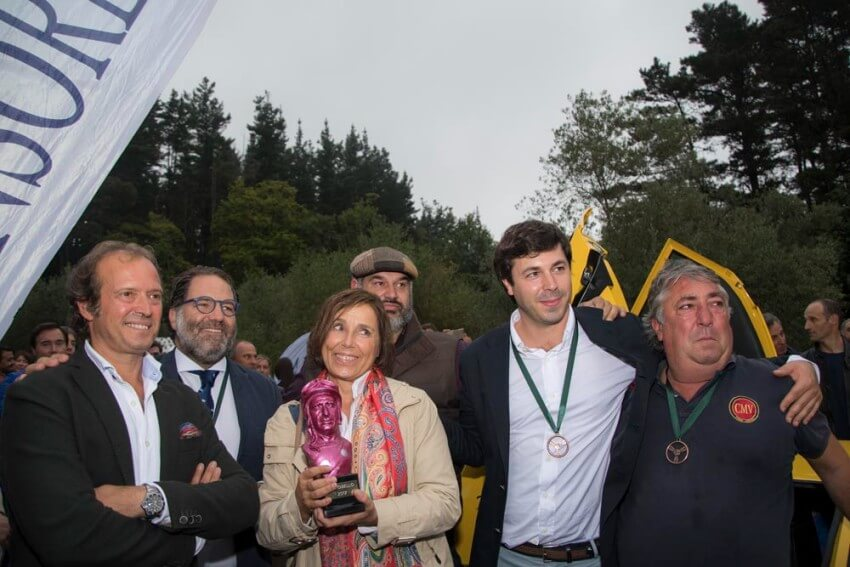Maria Lopez-Tapia en una edición de Autobello celebrada en Torre Loizaga