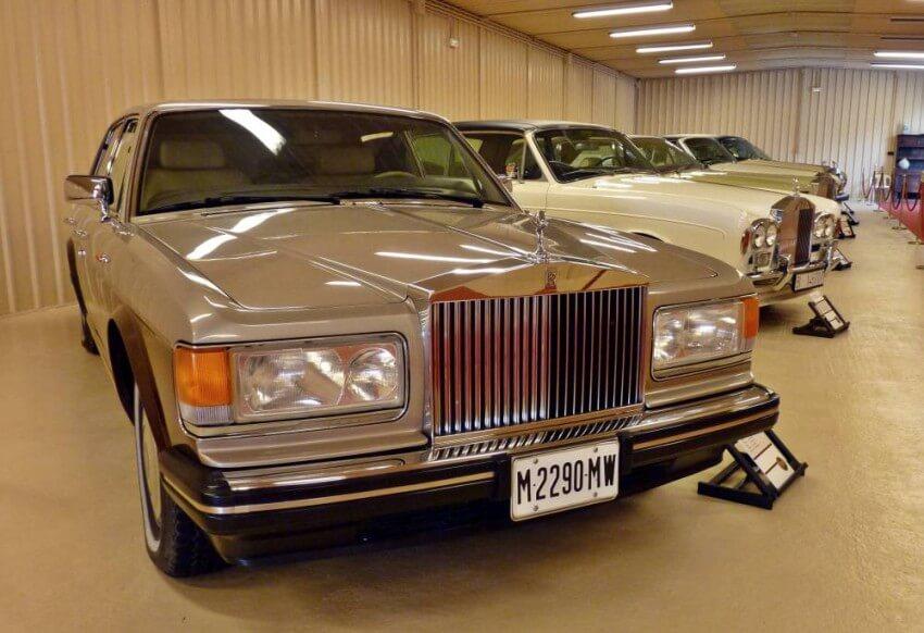 Parte de la colección de Rolls Royce de Torre Loizaga