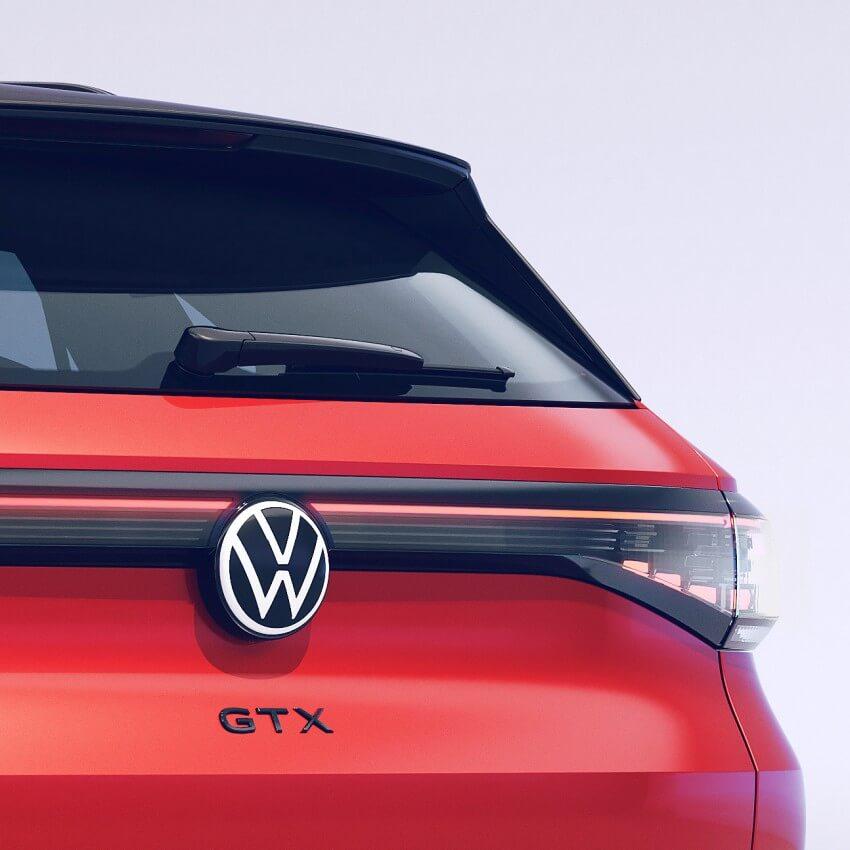 Parte trasera Volkswagen ID.4 GTX