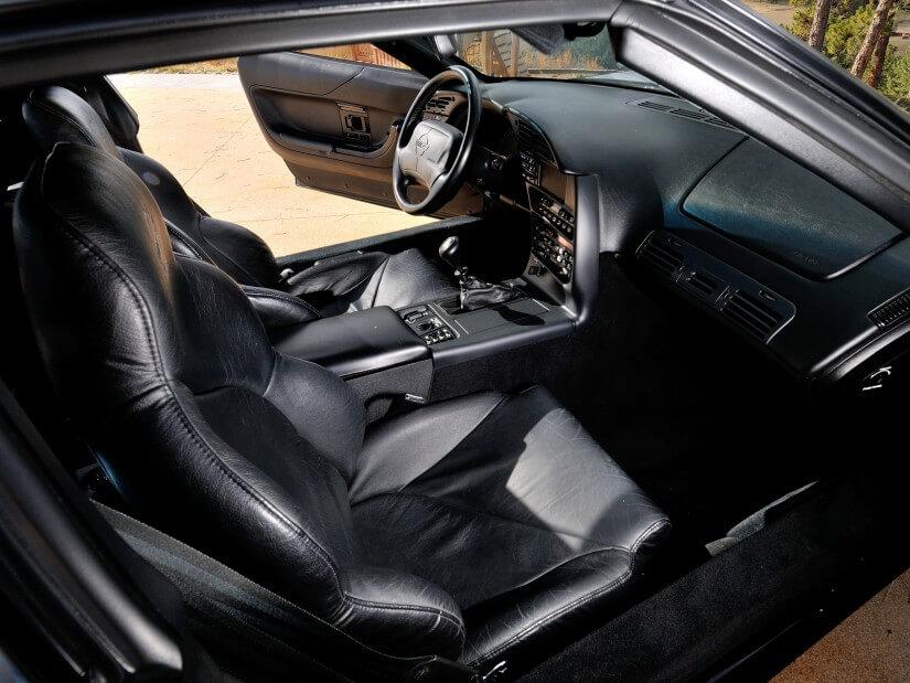Interior del Corvette C4 ZR-1