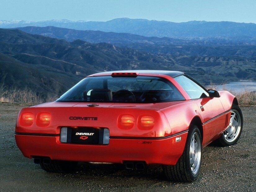 Trasera Corvette C4 ZR-1