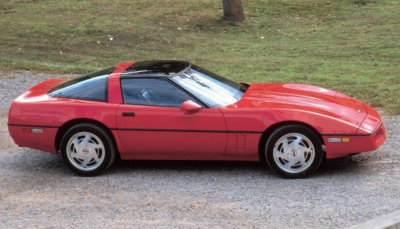 Vista lateral Corvette C4 ZR-1