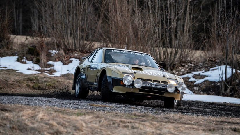 "El Porsche 924 Carrera GTS Rally ""Monnet"" consiguió 4 victorias en 1981"