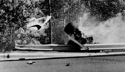 accidente de François Cevert en el GP de Estados Unidos