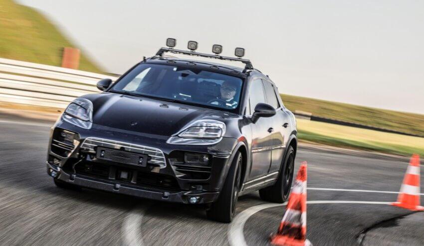 Porsche Macan electrico