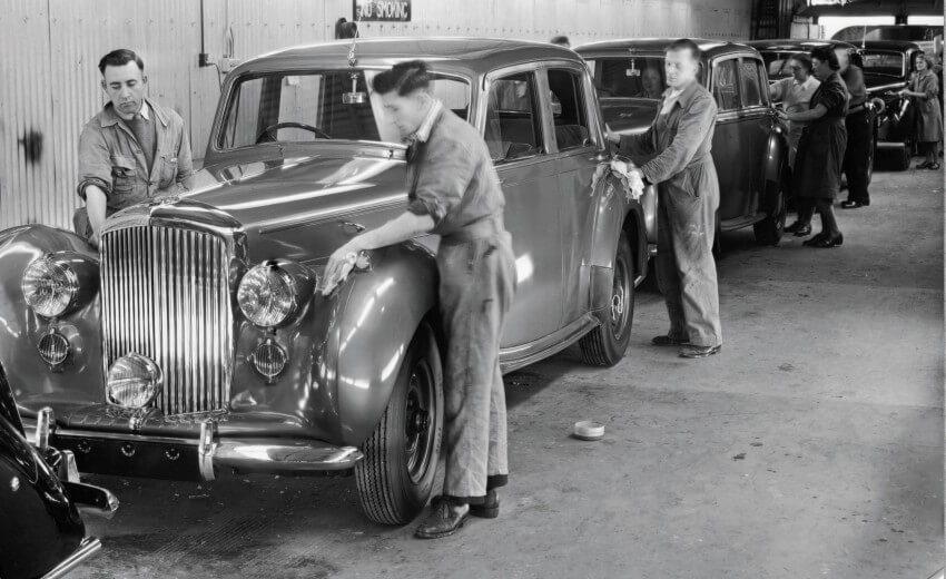 bentley-75 years at Crewe